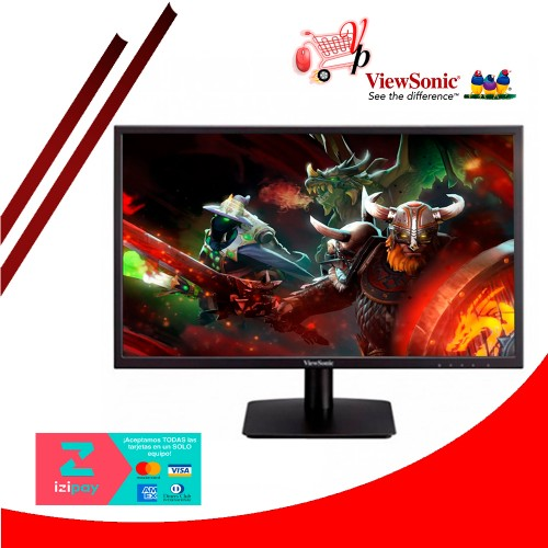 MONITOR VIEWSONIC 24 FULL HD (VA2405H) VGA-HDMI