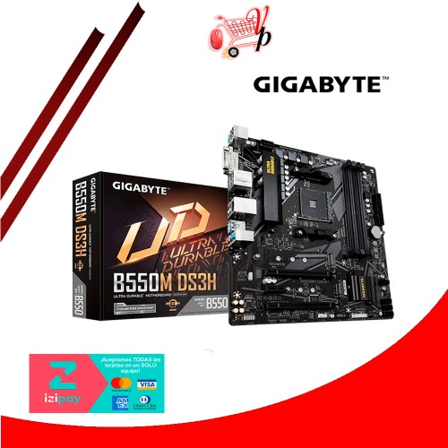 PLACA GIGABYTE B550M DS3H AM4